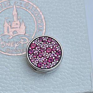PANDORA Pink Pavé Clip Charm